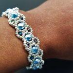 True Blue Aquamarine Bracelet