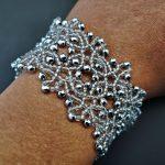 Lacy Hematite Bracelet